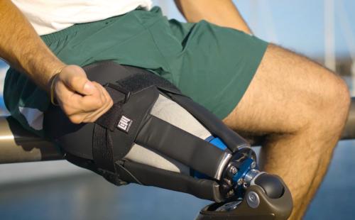 Infinite socket: modulaire stompkoker voor het been