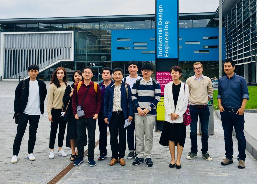Zuid-Koreaanse delegatie langs bij Fieldlab UPPS